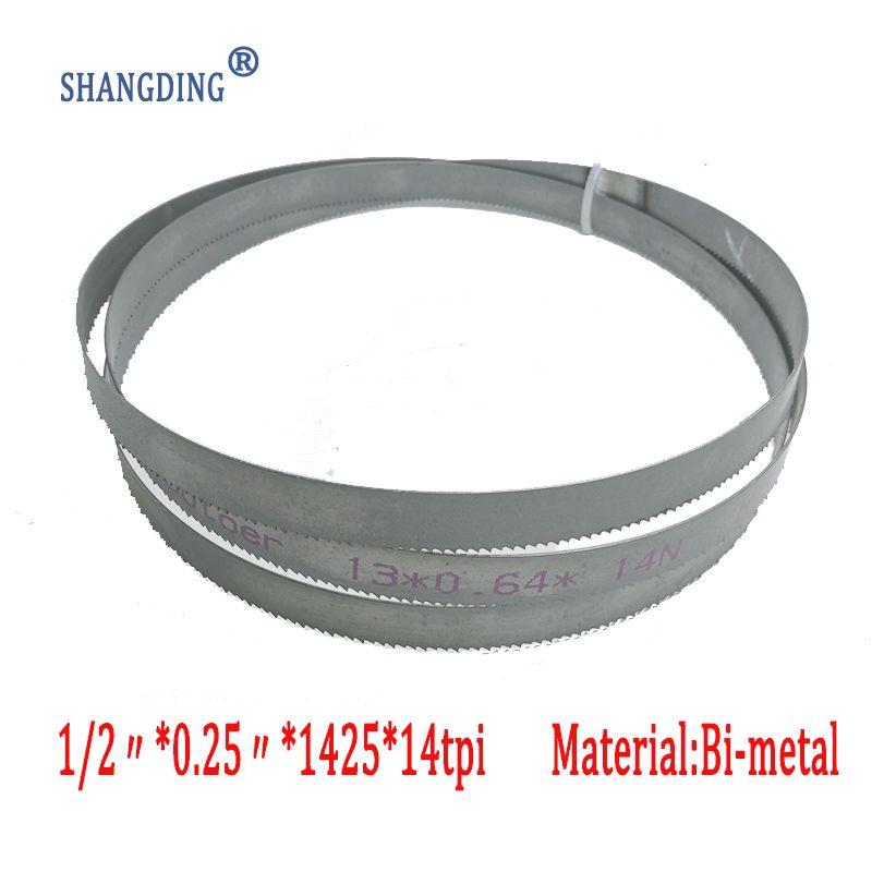 13*0.65*1425 * 14tpi M42 bi-métal scie à ruban de coupe lames durable nouveau 56-1/8
