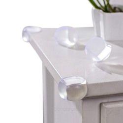 Al por mayor 12 piezas niño seguridad del bebé elástico suave Protector mesa cubierta de protección Corner Edge niños ángulo de choque esférica