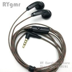 RY4S In-Ear Original Earphone 15 Mm Kualitas Musik Suara HIFI Earphone (MX500 A Earphone) 3.5 Mm L Bending Hi Fi Kabel
