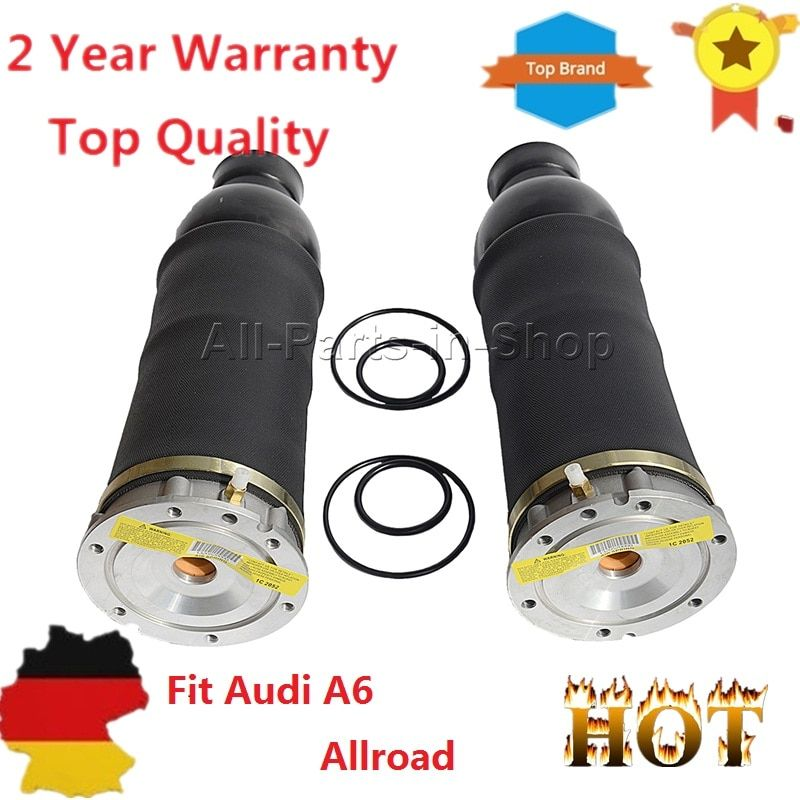 4Z7616051B, 4Z7616051D Pair Front Air Suspension Springs for Audi A6 (4B C5) Allroad Quattro (4BH C5) New