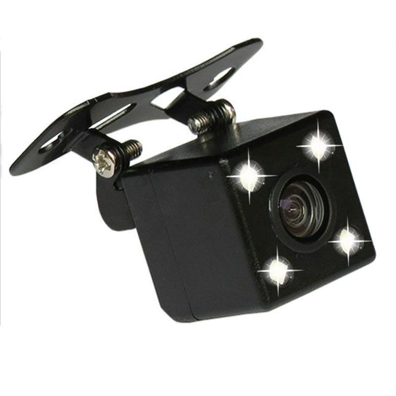 Car Back Camera Rear View Camera Hidden Reverse Cameras for Car Dvr Mirror Recorders 4 Led Night Vision HD CDD Lens 2.5mm Jack
