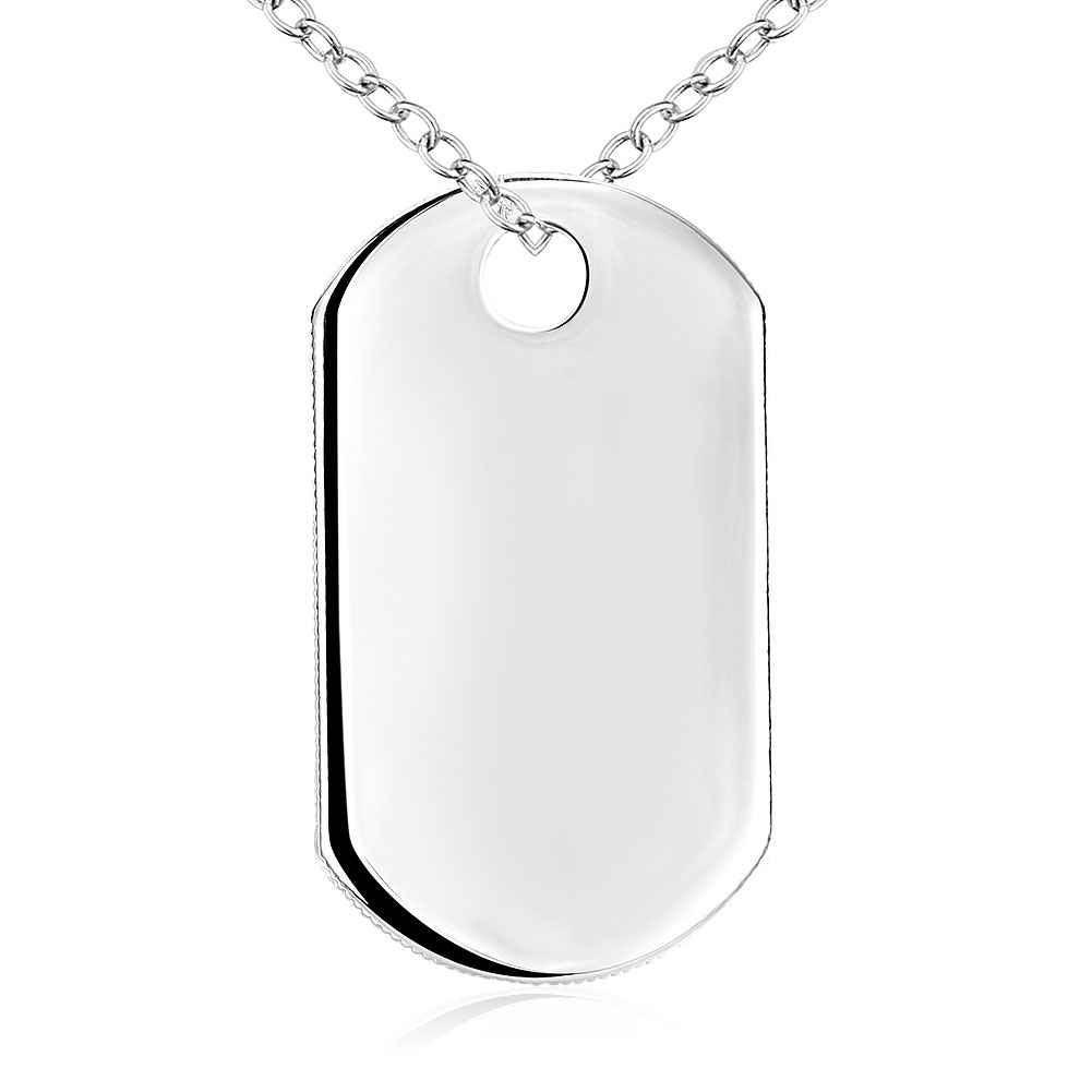 VAN1 for NLNL customer can with packing or no with packing 925 silver pendant square women necklace for women gift