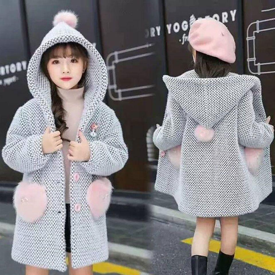 2019 Winter Mädchen Mäntel Langarm Baumwolle Jacken Für Mädchen Oberbekleidung Kinder Mädchen Kleidung Kinder Mäntel Kleidung 90 CM- 170 CM