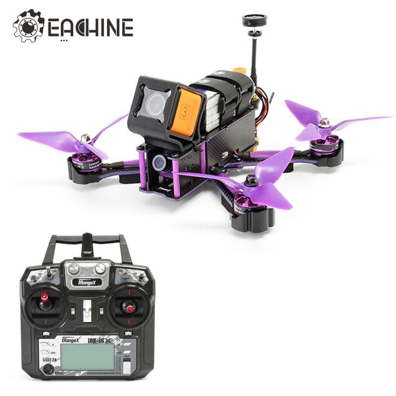 Eachine Wizard X220S X220 FPV Racer Drone F4 5.8G 72CH VTX 30A BLHeli_S 800TVL Camera w/ iRangeX iRX-i6X RTF VS X220