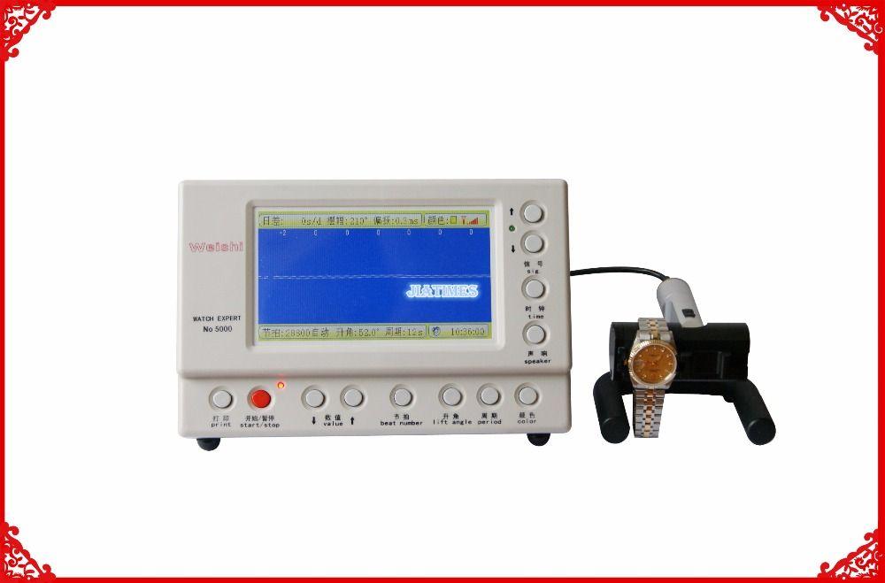 Livraison gratuite nouvelle montre mécanique testeur de chronométrage chronomètre multifonction Machine de chronométrage MTG-5000