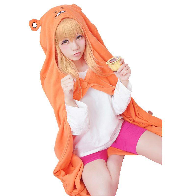 HSIU Umaru Doma de Himouto! Umaru-chan Cosplay Costumes cape chemise pantalon serré perruque Costume d'halloween XIUQINJIA Cosplay