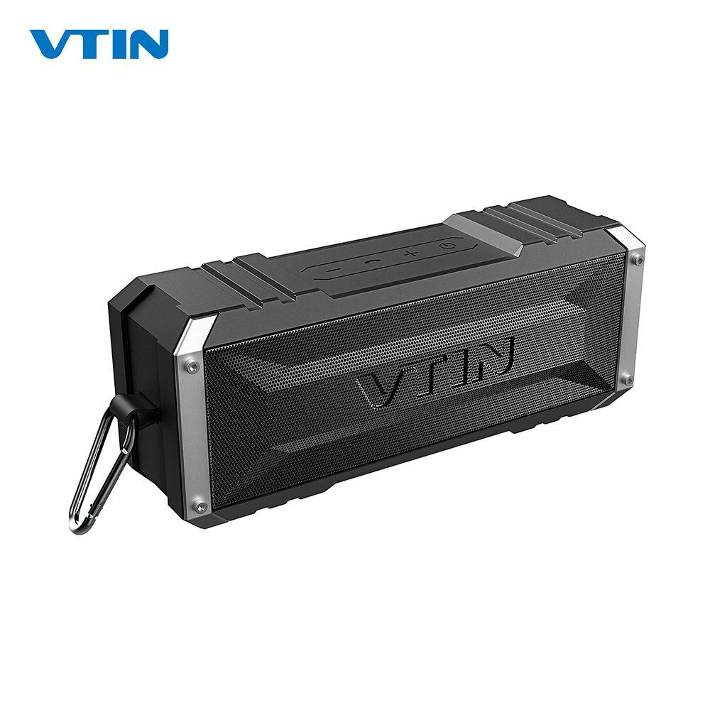 VTIN Punker Portable sans fil Bluetooth haut-parleur 20W sortie double 10W pilotes extérieur étanche haut-parleur avec micro pour Smartphones