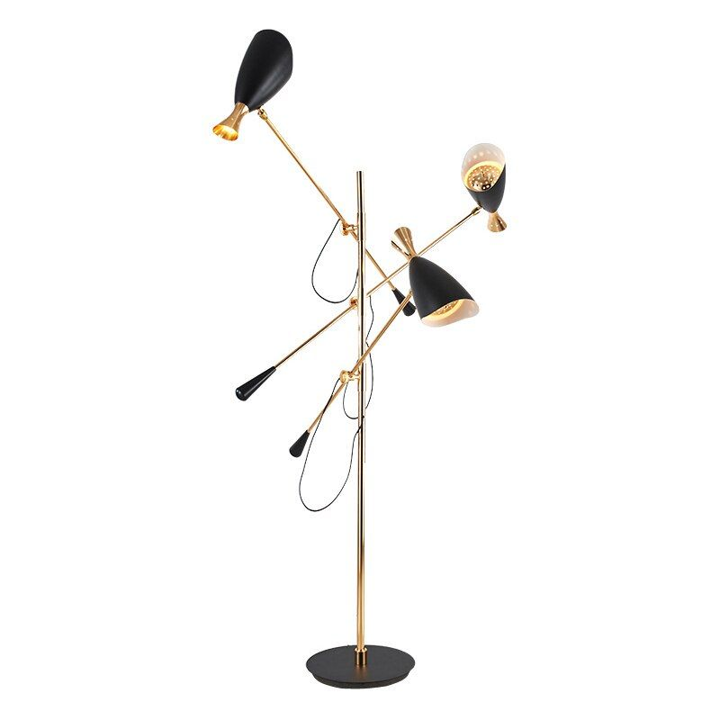3 arm LED Floor lamp adjustable Modern standing light for Living Room hall Floor Hotel Lighting Bedside Floor Lamp G9 E27 Lamp
