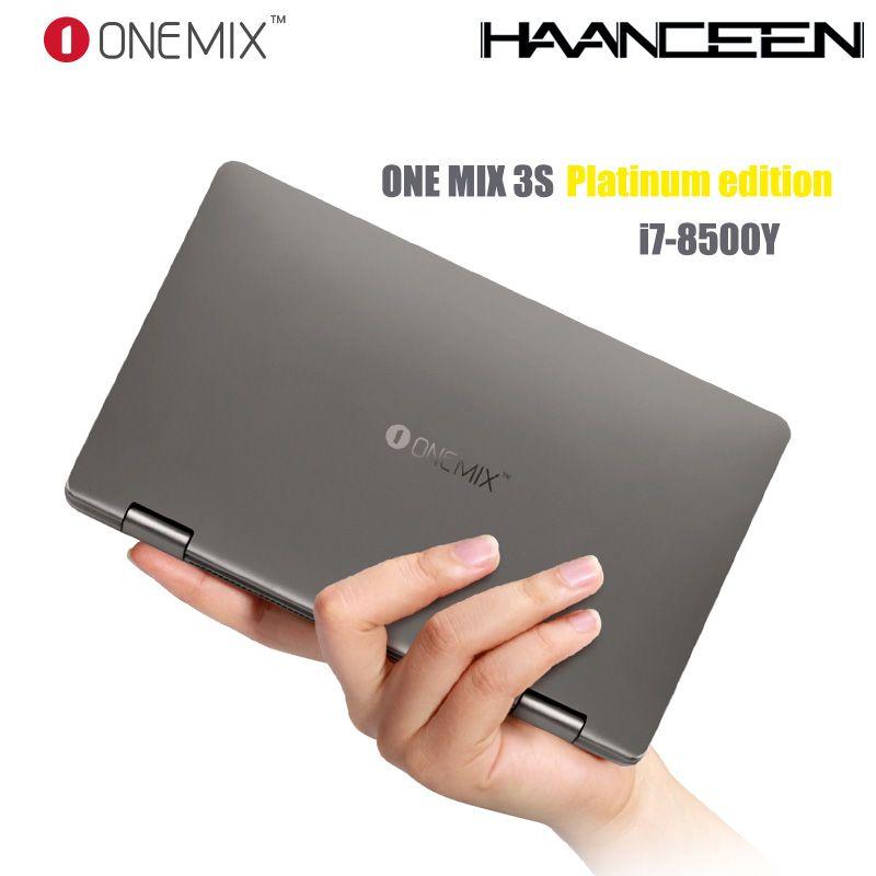 Einen Mix 3S Platin Edition Yoga Tasche Laptop Intel Core i7-8500Y Dual-Core 8,4 IPS 16G 512G Dual Band WIFI Typ C Geschenk Tasche