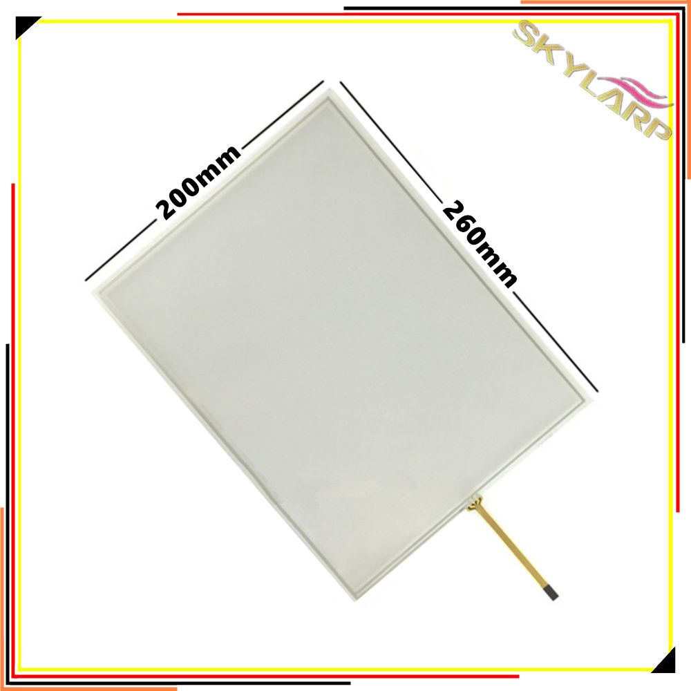 Original 12,1 zoll 4:3 4 draht Resistiven Touchscreen-panel Für Maschinen industriellen medizinischen ausrüstung 260*200 260mm * 200mm Touch