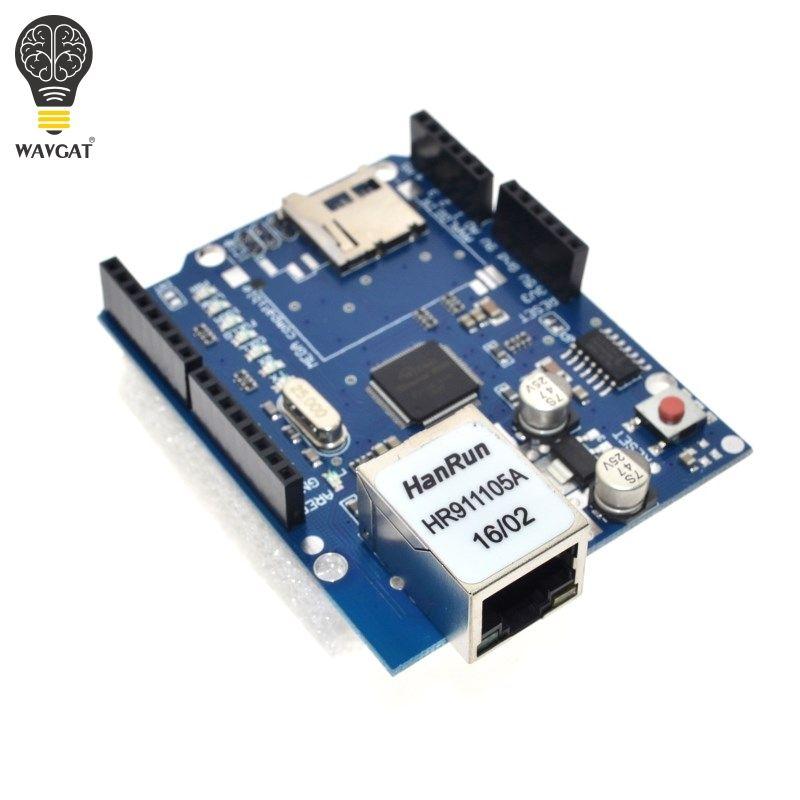 UNO Bouclier Ethernet Bouclier W5100 R3 UNO Mega 2560 1280 328 UNR R3 seulement W5100 Développement POUR Arduino