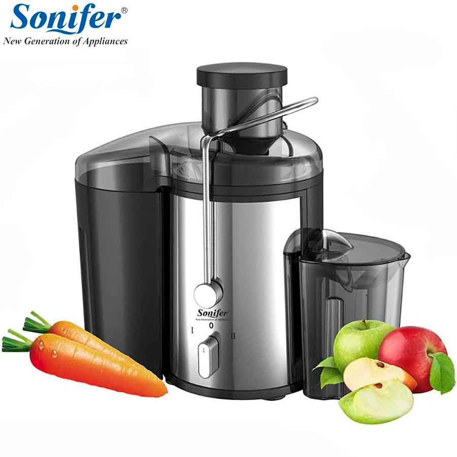 220V Stainless steel Juicers 2 Speed electric Juice <font><b>Extractor</b></font> Fruit Drinking Machine For Home Sonifer