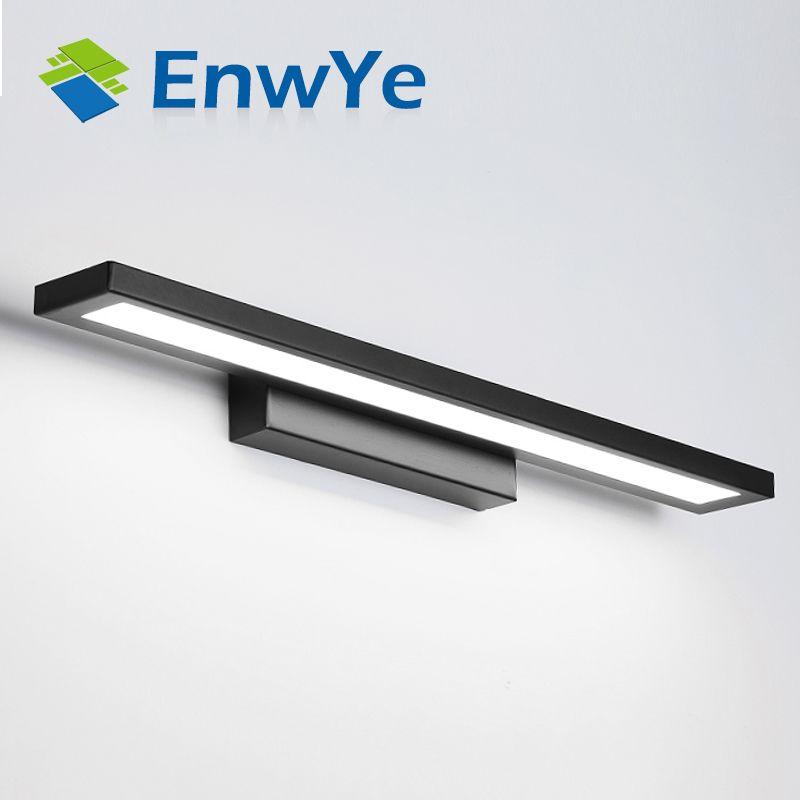 EnwYe Wall lamps bathroom led mirror light Waterproof 5W 8W 11W AC85-265V Modern acrylic Wall lamp Bathroom Lighting BD61