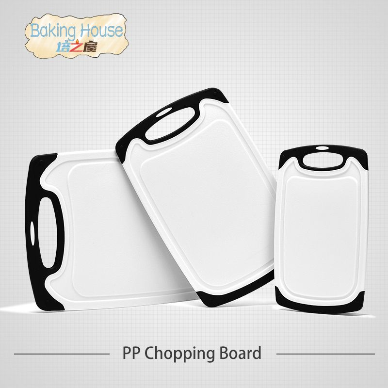 3Pcs/Set Antibacterial Chopping Board Multifunction PP Plastic Heat Resistant Dishwasher Safe Cutting Boards Kitchen Tools