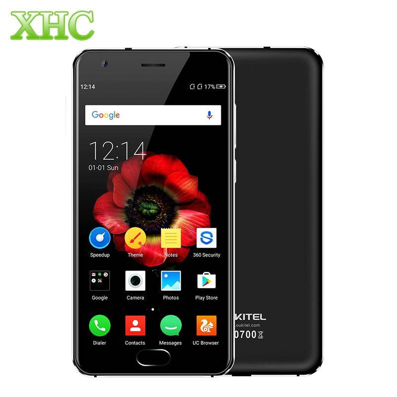 OUKITEL K4000 Plus Android 6.0 Smartphone RAM 2 GB ROM 16 GB 5.0 ''4100 mAh MTK6737 Quad Core LTE 4G D'empreintes Digitales ID Mobile téléphone