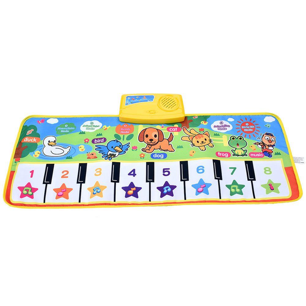 baby music carpet baby music mat Newborn Baby Kid Children Crawling Piano Musical carpet musical mat blanket Rug toy gift animal