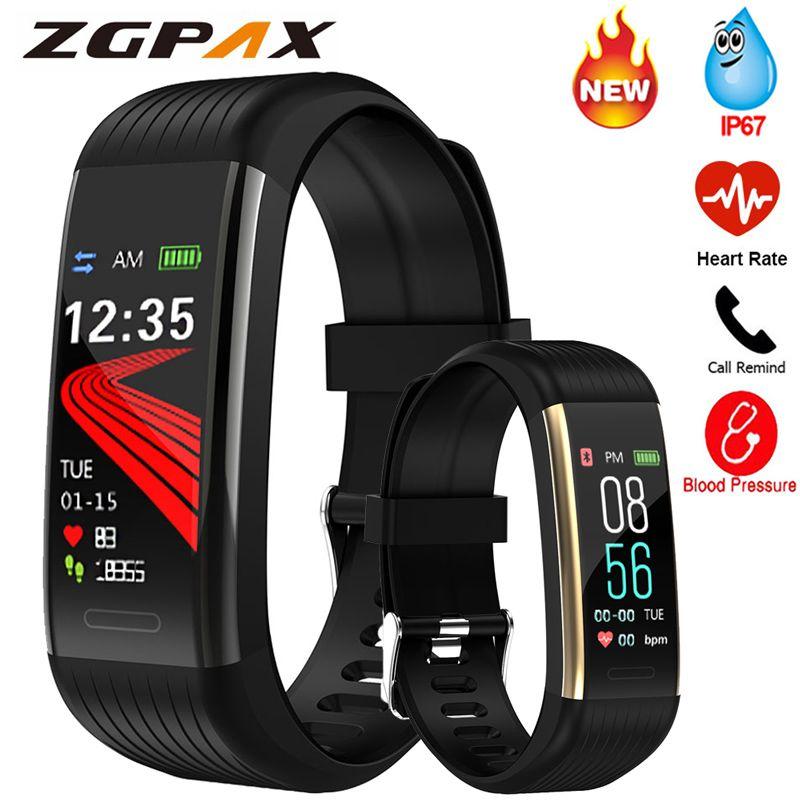 Smart Band Blood Pressure Measurement Pedometer Fitness Tracker Watch Smart Bracelet Women Men Waterproof For Android Ios