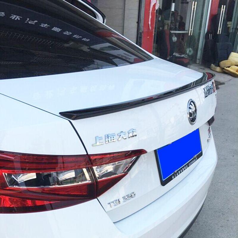 Auto Accessoires Pour Skoda Superb 2015 2016 Haute Qualité Plastique ABS Non Peint Primer Queue Tronc Aile Aileron Arrière Décoration