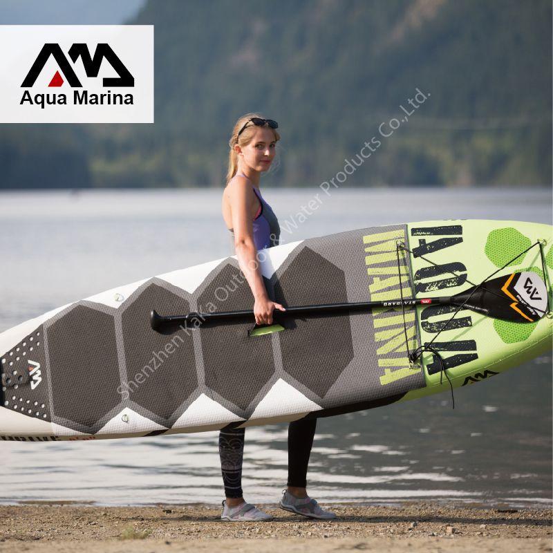 Новинка 2017 300*75*15 см aqua Marina 10 футов процветать с педаль надувные доски стоячего доска surf доска для серфинга a01006