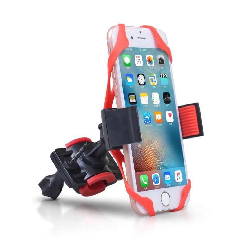 Cellphone holder for SUPERTEFF electric scooter compatible for most brand smartphone like Iphone/Sumsung/Huawei/Xiaomi