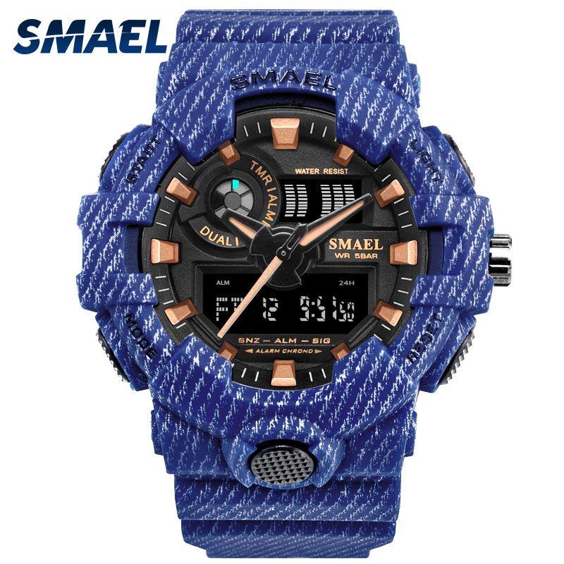 Cowboy Sport Watch New Military Watches Army Digital Writwatch LED 50m Waterproof Men's Watch <font><b>Saat</b></font> 8001 Men Watch Brand Luxury