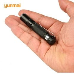 Portable Mini Penlight CREE Q5 2000LM LED Lampe Torche Lampe De Poche Étanche Lanterne AAA Batterie Puissant Led Pour La Chasse