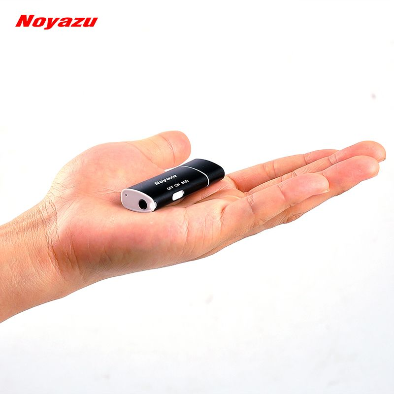 NOYAZU V17 Smallest 8GB Voice <font><b>Activated</b></font> Digital Audio Voice Recorder Audio Recording USB Portable Small Mini Recorder Mp3 Player