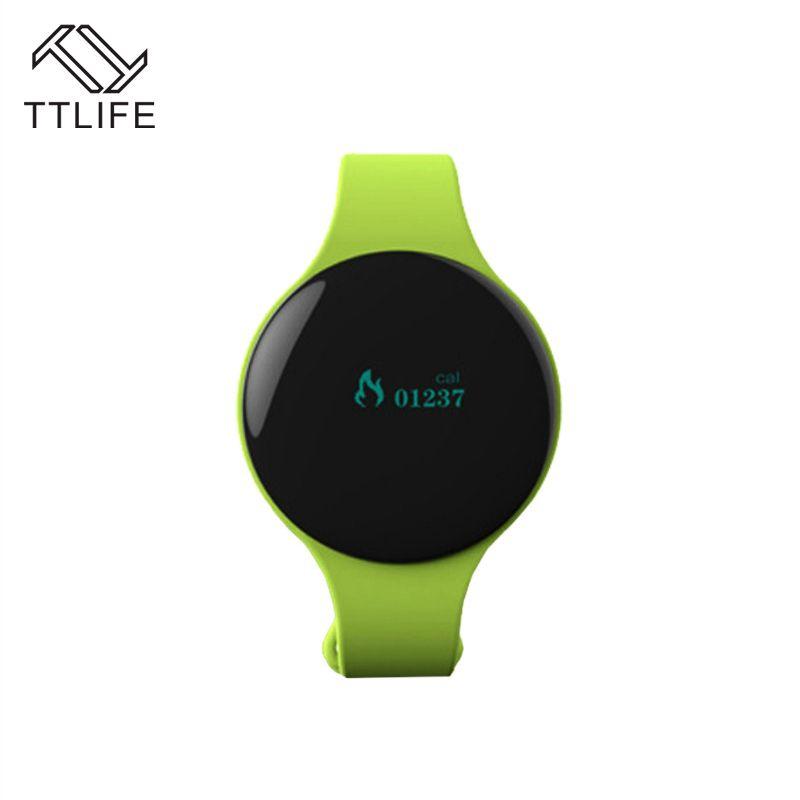 TTLIFE Bluetooth 4,0 Halskette Schrittzähler Sport Aktivität Fitness NOTracker Smart Band Armband Armband Besser Als Fit Bit H8