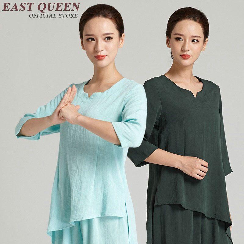 Taichi uniforme tai chi vêtements femmes tai chi uniforme kung fu arts martiaux vêtements lâche fit sport ensembles AA2521 YQ
