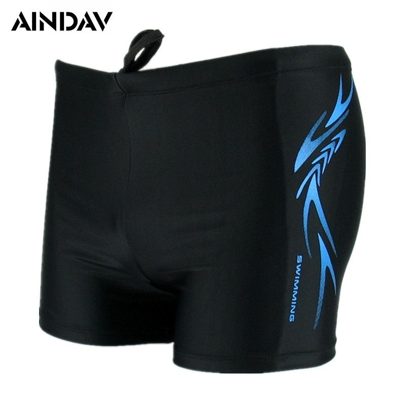 Waterproof Brand Mens Swimwear Swimming Boxer Shorts Trunks Male Swimsuits Sports Swim Briefs Man Surf Board Shorts Plus Size