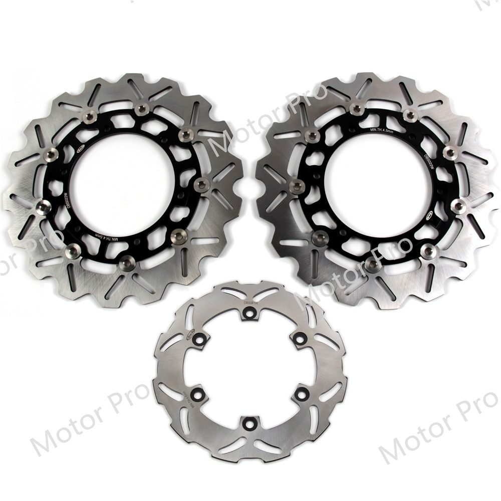 For Yamaha YZF-R1 2002 2003 Front Rear Brake Disc Disk Rotor Motorcycle Replacement Accessories YZF R1 02 03 YZF-R6 R6 1999 2000