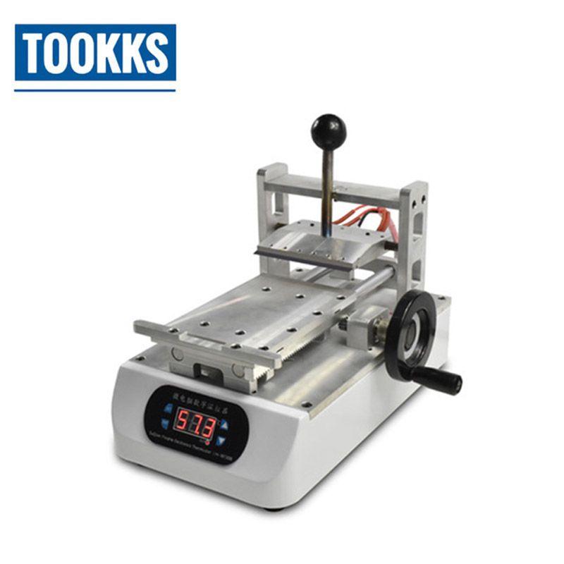 7 zoll 200 W LCD OCA Kleber Entfernen Maschine Polarisator Entferner für LCD Renovieren