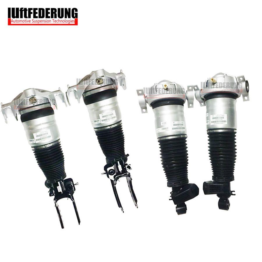 Luftfederung 2007-2010 2pcs Front+2pcs Rear Suspension Air Spring For 955 Audi Q7 VW Touareg 7L5616039E(40D) 7L8616020D(19F)