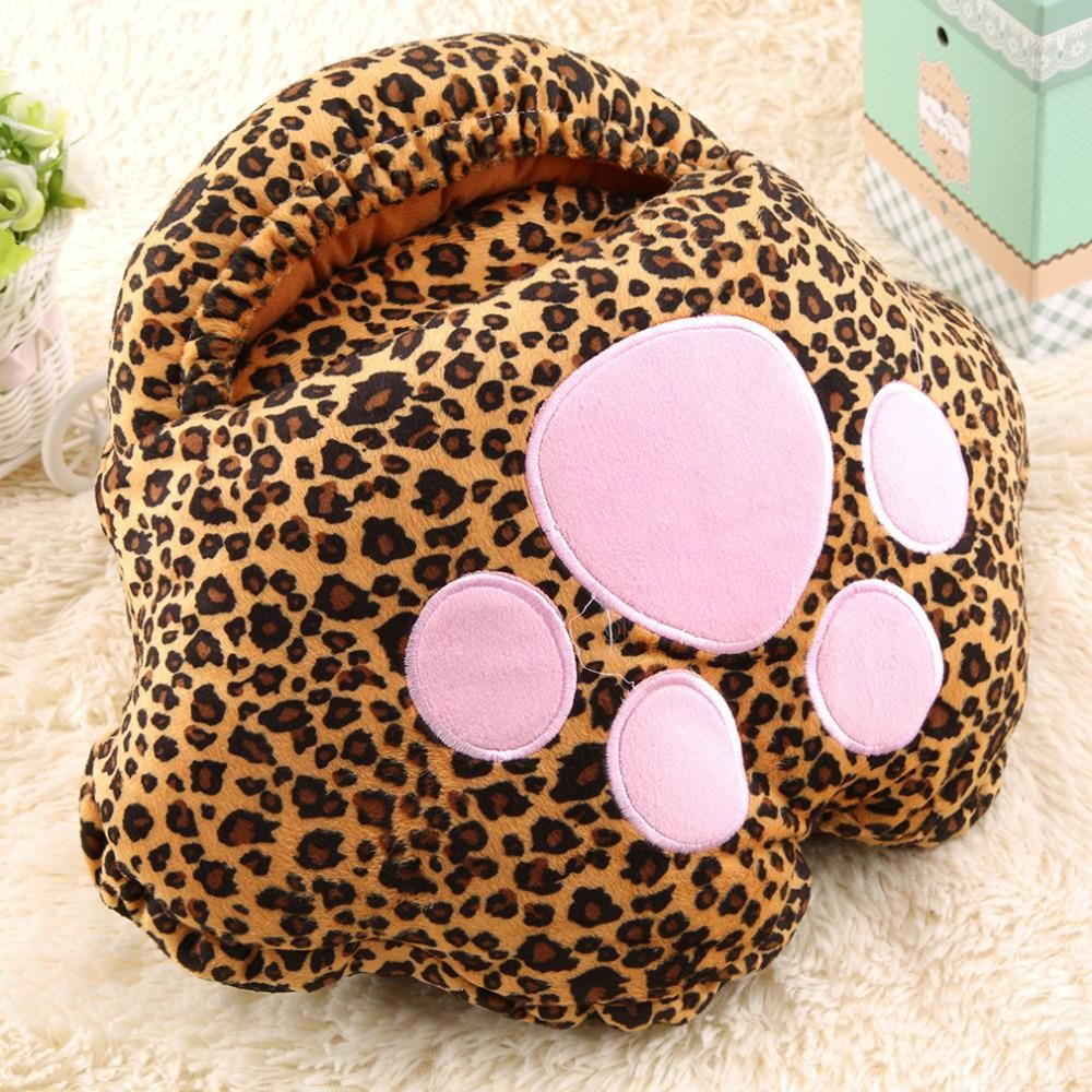 1PC Big Feet Warm Slipper Cartoon USB Foot Warmer Shoes Computer PC Electric Heat Slipper for Indoor Drop Shipping