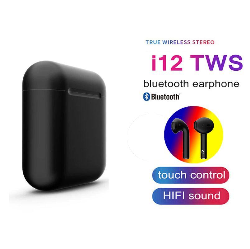 2019 I12 Tws Bluetooth 5.0 Earphones Earbuds Mini 3d Touch Control Wireless Headset Earpiece Original In-ear Earphone For Phone