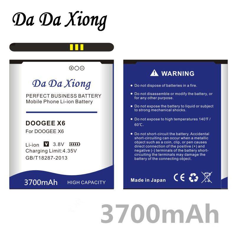 Da Da Xiong 3700 mAh DOOGEE X6 Batterie für DOOGEE X6 DOOGEE x6 pro