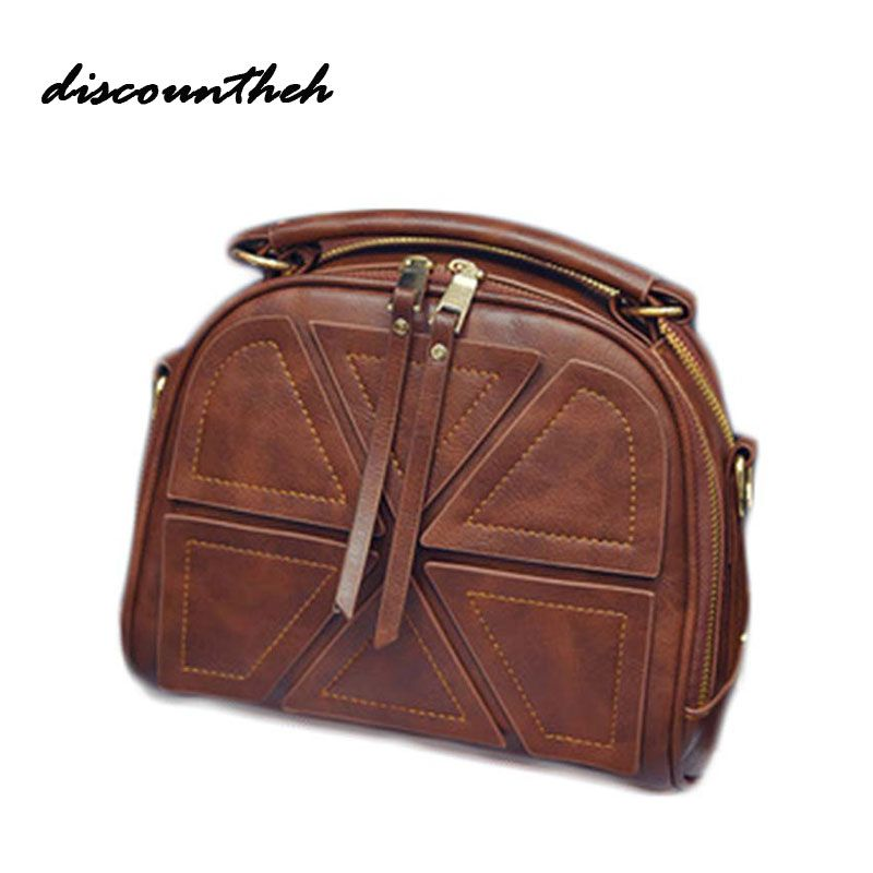 2017 Small Women Messenger Bags Ladies Handbags Women Bags Totes Crossbody Bags Shoulder Fashion Designer Bag Patchwork