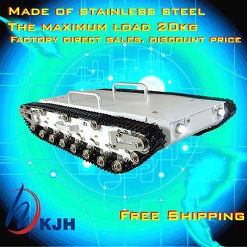 Un réservoir en métal plein de voiture châssis/Toute la structure en métal, grande taille charge grand/obstacle-surmontant réservoir châssis rapide livraison gratuite