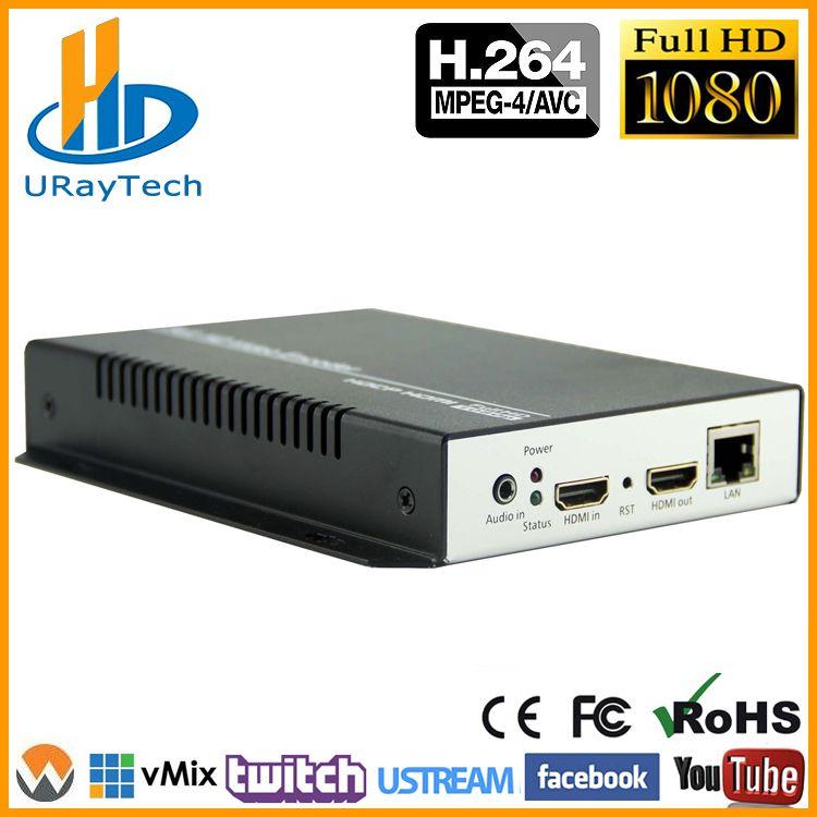 DHL Freies Verschiffen HDMI IPTV Encoder H.264 RTSP RTMP Encoder H.264 HDMI IP Encoder Für IPTV, live-Streaming Broadcast, Wowza