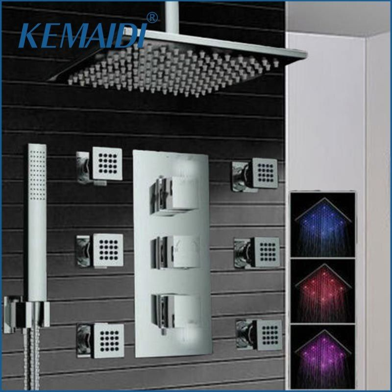 KEMAIDI Bathroom Shower 8