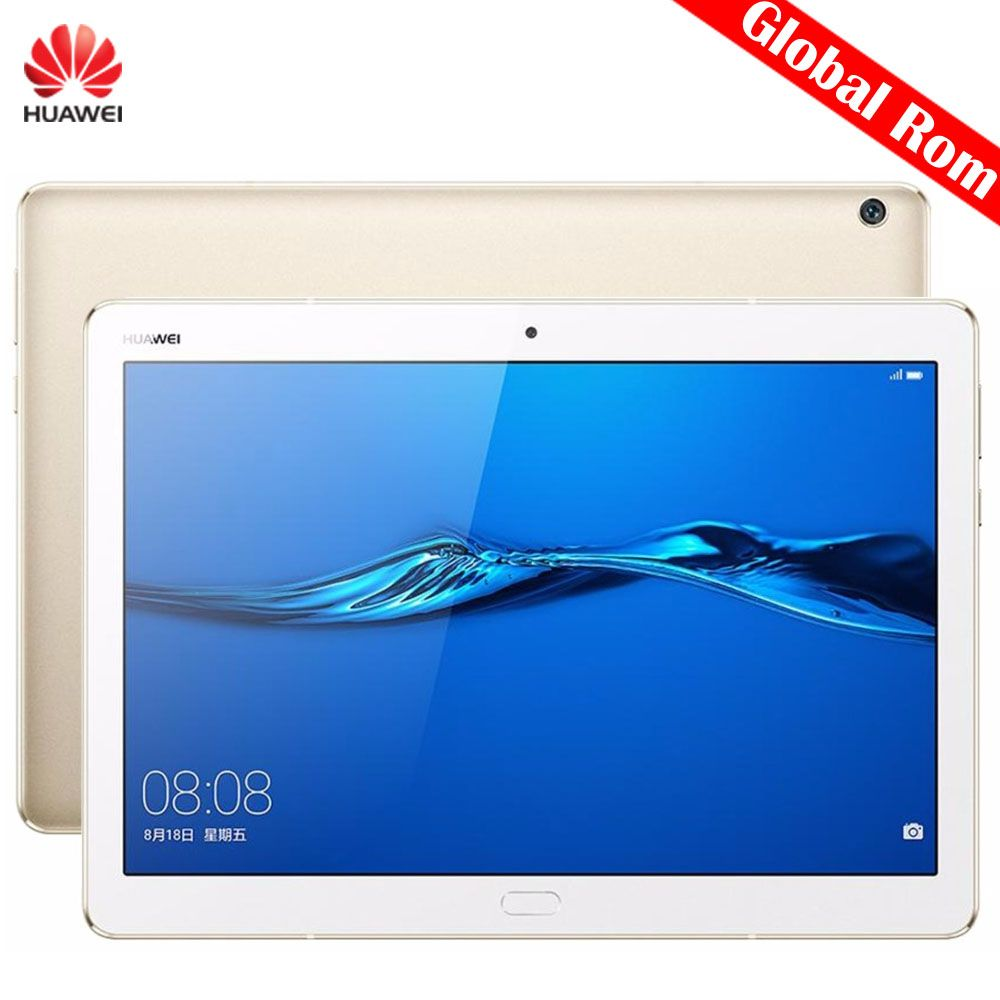 Free DHL Global Huawei MediaPad M3 Lite 10 BAH-W09 10.1 inch Tablet PC SnapDragon 435 Octa Core 4GB 64GB 3GB 32GB EMUI 5.1 GPS