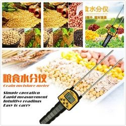 GRAIN Moisture Meter Digital Moisture Meter Smart Sensor AR991 Menggunakan untuk Jagung, Gandum, Beras, Kacang, tepung Gandum Pakan Ternak Rapeseed Benih