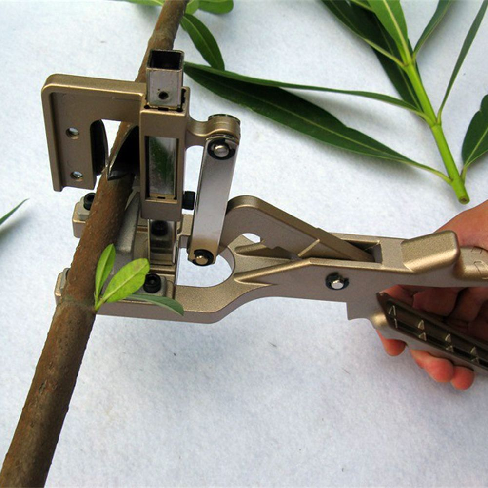 Professional Garden Fruit Tree Grafting Tools Garden Pruning Shears Scissor Grafting Cutting Tool For Vegetable Grafter Tree