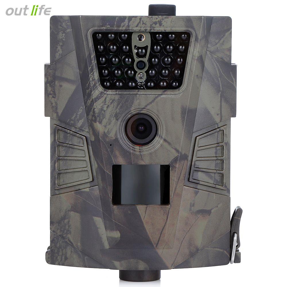 Infrarot HT-001 HD Nachtsicht Jagd Kamera 60 Grad Erfassungswinkel Outdoor Digitale Überwachungskamera Jagd Gerät