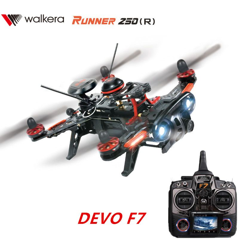 Walkera Runner 250 Advance FPV GPS RC Racing Drone Quadcopter 250(R) with DEVO F7 FPV Transmitter / Camera / GPS RTF