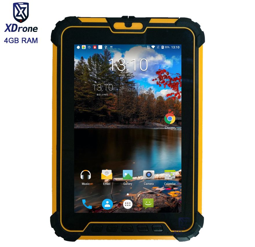 Original Kcosit Wasserdichte Tablet Stoßfest PC Android 7.1 4 GB RAM 64 GB ROM MSM8953 Octa-core 8 13.0MP UHF RFID HDMI 4G GPS