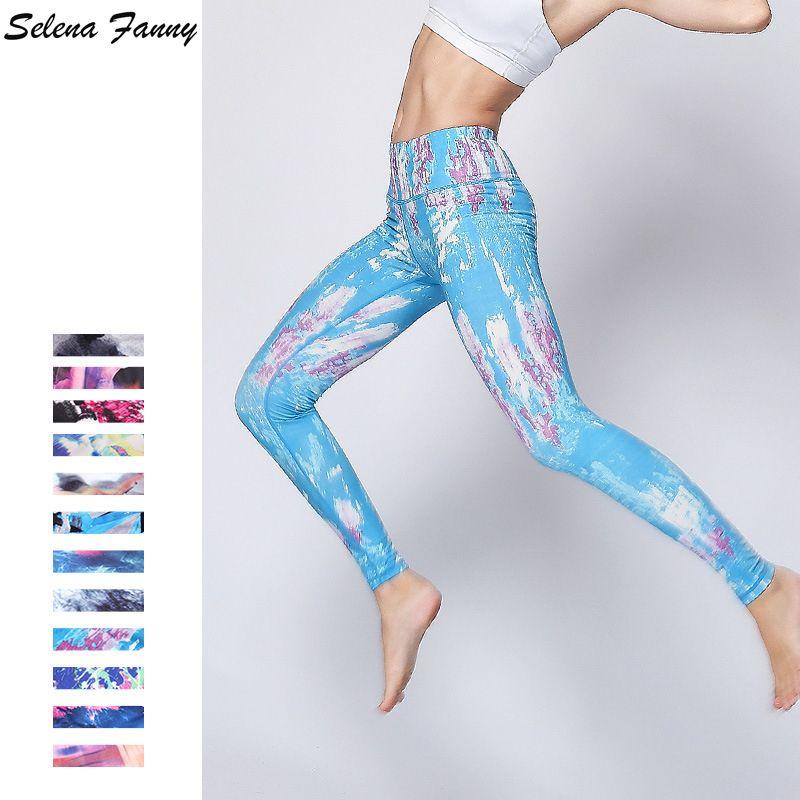 Pantalons de sport de Yoga professionnels vêtements d'entraînement de gymnastique élastiques femmes sport Fitness pantalons de course femme pantalons de Yoga serrés S-XL