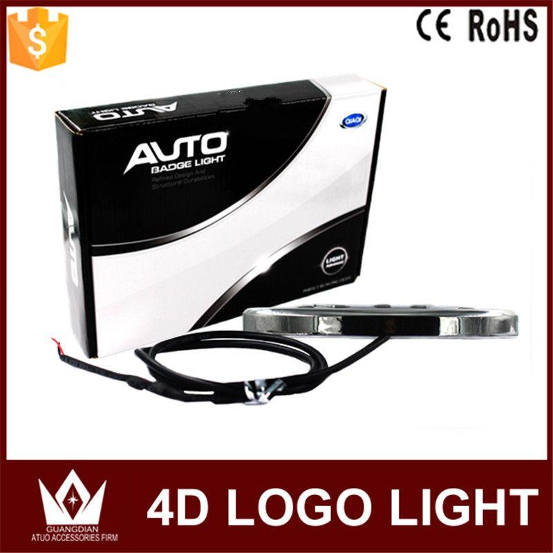 Night Lord 4D Car Emblem light for VW Golf 6 tiguan bora CC scirocco Magotan Badge Sticker LED light  4D logo light Emblems led
