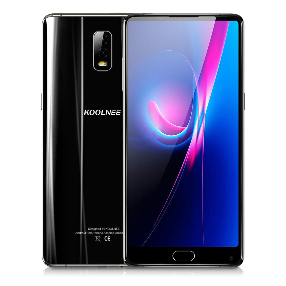 KOOLNEE K1 Trio 4G Phablet 6GB RAM 128GB ROM 6.01 Inch Android 7.1 Octa Core 2.0GHz MTK6763 16.0MP Dual Rear Cameras Fingerprint