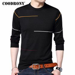 COODRONY Cashmere Wool Sweater Men Brand Clothing 2020 Autumn Winter New Arrival Slim Warm Sweaters O-Neck Pullover Men Top 7137